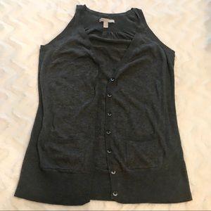 Jersey Knit Vest